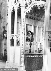 Wells, Cathedral, The Bubwith Chapel c.1920