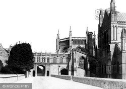 Wells, Cathedral, The Chain Gate c.1900