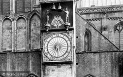 Wells, Cathedral, The Clock c.1900