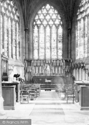 Wells, Cathedral, The Ladye Chapel c.1920