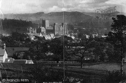 Wells, From Milton Hill c.1900