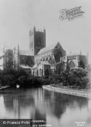 Wells, From Place Gardens c.1900