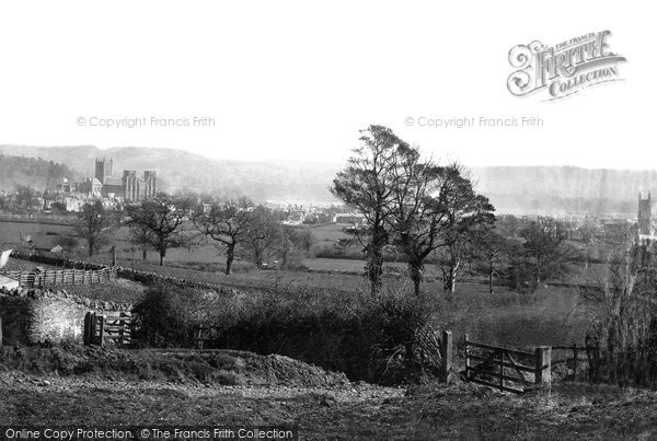 Photo of Wells, From The Hill 1890