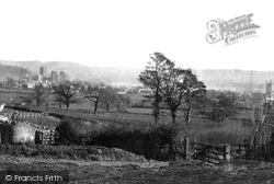 Wells, From The Hill 1890