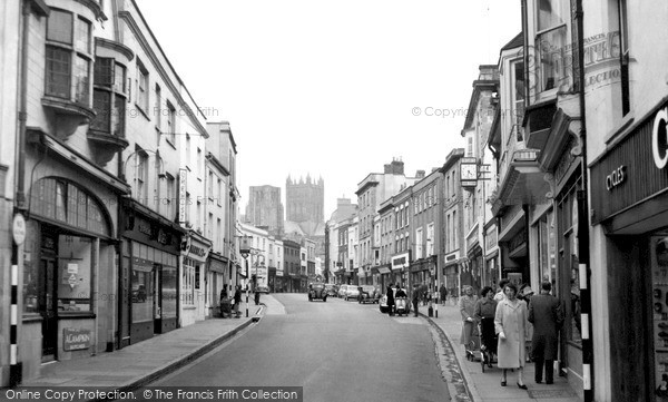 Photo of Wells, High Street 1961