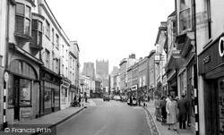 Wells, High Street 1961