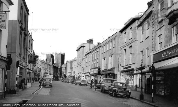 Photo of Wells, High Street 1963