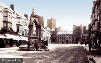 Wells, Market Place 1890