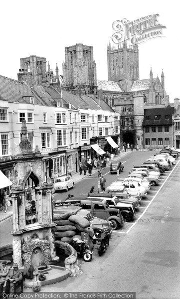 Photo of Wells, Market Place 1961