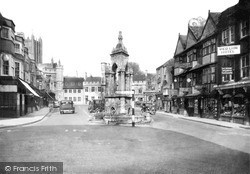 Wells, Market Place c.1950