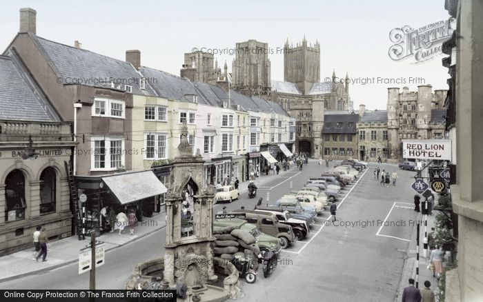 Photo of Wells, Market Place c.1960