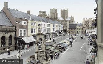 Wells, Market Place c1960