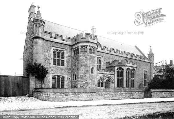 Photo of Wells, New College 1892