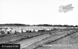 Wells-Next-The-Sea, Caravan Site c.1965
