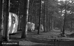 Wells-Next-The-Sea, Caravaning In The Pine Woods 1950