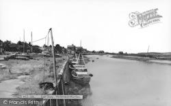 Wells-Next-The-Sea, East Quay c.1965
