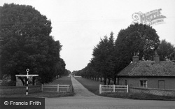 Wells-Next-The-Sea, Lady Anne's Walk 1950