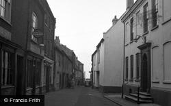 Wells-Next-The-Sea, Staithe Street 1950