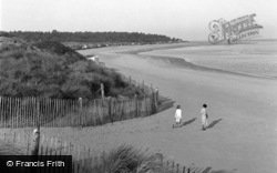 Wells-Next-The-Sea, The Bay 1950