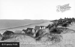 Wells-Next-The-Sea, The Beach c.1965