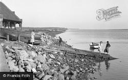 Wells-Next-The-Sea, The Boathouse Slipway 1950