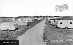 Wells-Next-The-Sea, The Caravan Site c.1965