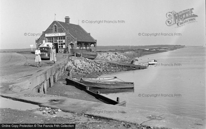 Photo of Wells Next The Sea, The Embankment 1950