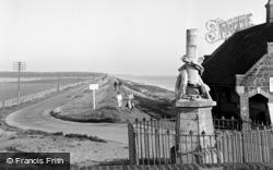 Wells-Next-The-Sea, The Embankment 1950