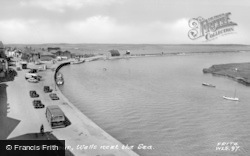Wells-Next-The-Sea, The Harbour c.1955