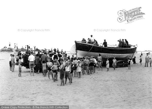 Wells-Next-The-Sea, The Motor Lifeboat & Tractor 1939