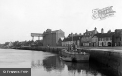 Wells-Next-The-Sea, The Quay 1950