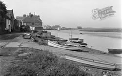 Wells-Next-The-Sea, The Slipway 1950