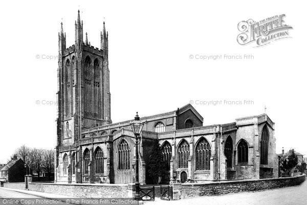 Photo of Wells, St Cuthbert's Church 1890
