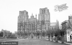Wells, The Cathedral 1961