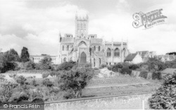 Wells, The Cathedral 1964