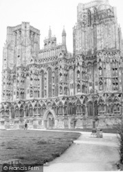 Wells, The Cathedral c.1960