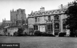 Wells, The Deanery c.1950
