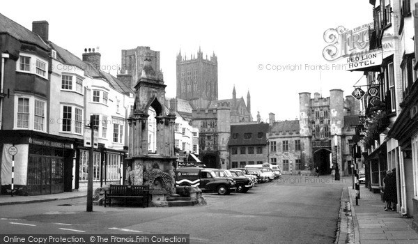 Photo of Wells, The Market Place 1961