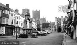Wells, The Market Place 1961