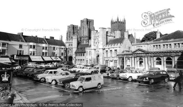 Photo of Wells, The Market Place 1963