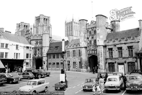 Photo of Wells, The Market Place 1964