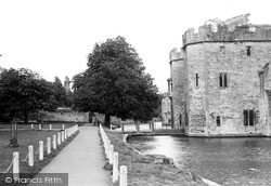 Wells, The Moat c.1950