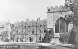 Wells, The Palace c.1900