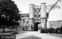 Wells, The Palace Eye c.1950