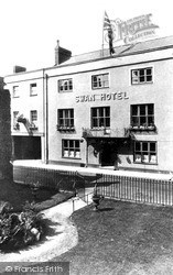 Wells, The Swan Hotel c.1920