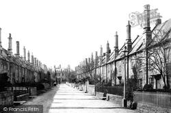 Wells, Vicars Close 1890