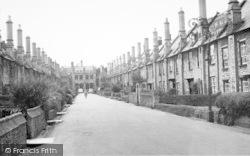 Wells, Vicars Close 1959