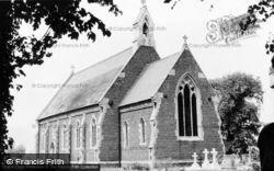 Welney, St Mary's Church c.1950