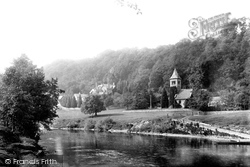 River Wye And St Margaret's Church 1893, Welsh Bicknor
