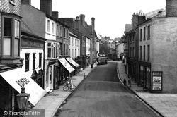 Welshpool, Berriew Street c.1955